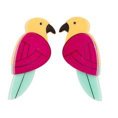 E4407-0170 Parrots Paradise Studs