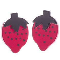 E4399-1070 Strawberry Fields Earrings