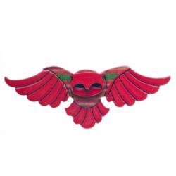 BH5297-1001 Octavia Owl Brooch