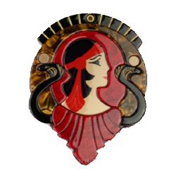 MR5302-1002 Cleopatra Purse Mirror